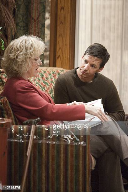 WILL GRACE Queens for a Day Part 1 2 Episode 10 Pictured Lee Garlington as Annette Eric McCormack as Will Truman Photo by Chris Haston/NBCU Photo Bank