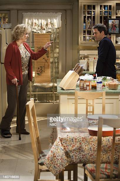 "Queens for a Day: Part 1 & 2"" Episode 10 -- Pictured: Lee Garlington as Annette, Eric McCormack as Will Truman -- Photo by: Chris Haston/NBCU Photo..."