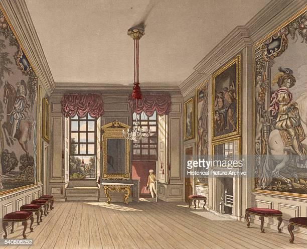 Queens Levee Room Saint James Palace 1819