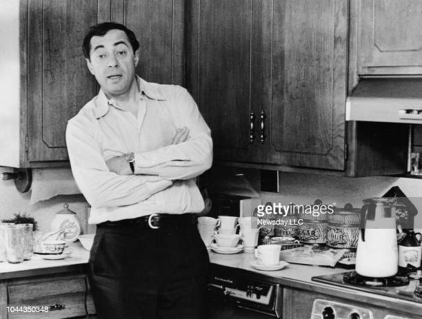 NY Mario Cuomo in the kitchen of his home in Holliswood Queens New York on September 13 1977