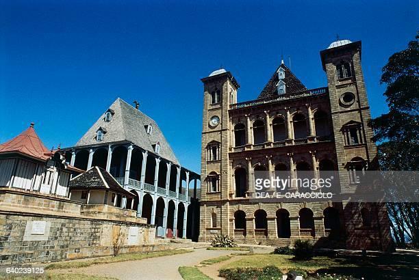 Queen's palace or Rova of Antananarivo Madagascar 19th century