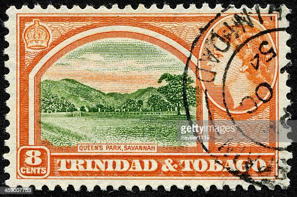 queen's park (the savannah) in trinidad and tobago - port of spain stock photos and pictures