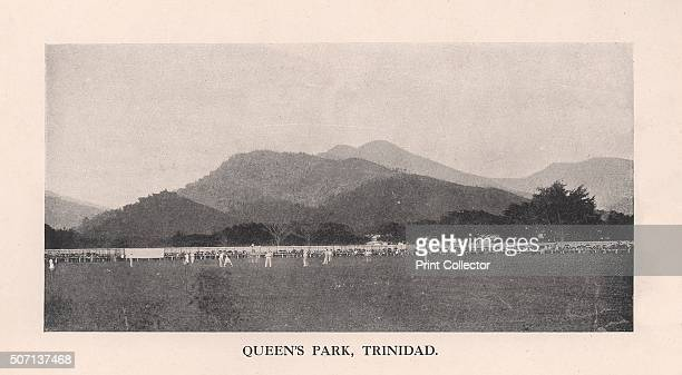 Queen's Park Oval, Port of Spain, Trinidad, 1912. From Imperial Cricket, edited by P F Warner and published by The London and Counties Press...