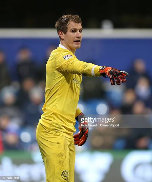 Queens Park Rangers' Alex Smithies during the Sky Bet Championship match between Queens Park Rangers and Wolverhampton Wanderers at Loftus Road on...