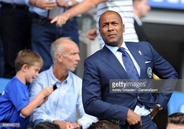 Queens Park Rangers director of football Les Ferdinand during the Sky Bet Championship match between Cardiff City and Queens Park Rangers at Cardiff...