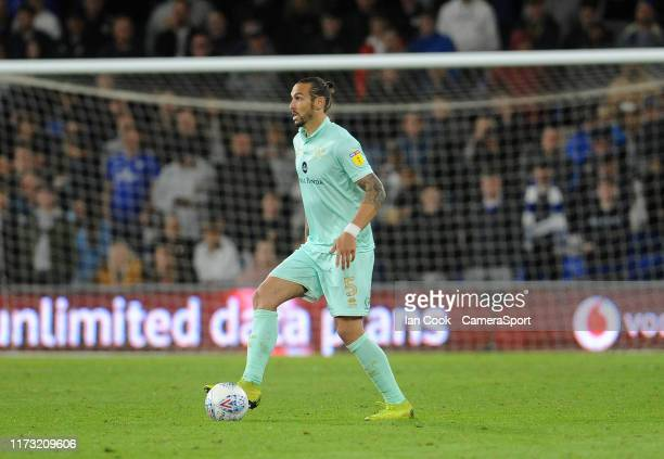 Queens Park Rangers' Geoff Cameron during the Sky Bet Championship match between Cardiff City and Queens Park Rangers at Cardiff City Stadium on...