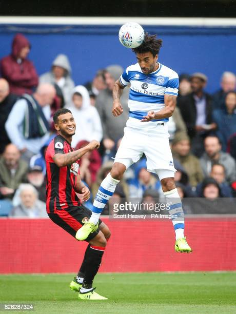 Queens Park Rangers' James Perch during the preseason match at the Vitality Stadium Bournemouth PRESS ASSOCIATION Photo Picture date Sunday July 30...