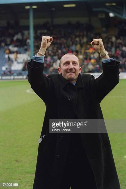 Queens Park Rangers manager Ian Holloway at Loftus Road during a Nationwide Division 1 match against Sheffield United 3rd March 2001 QPR lost 13