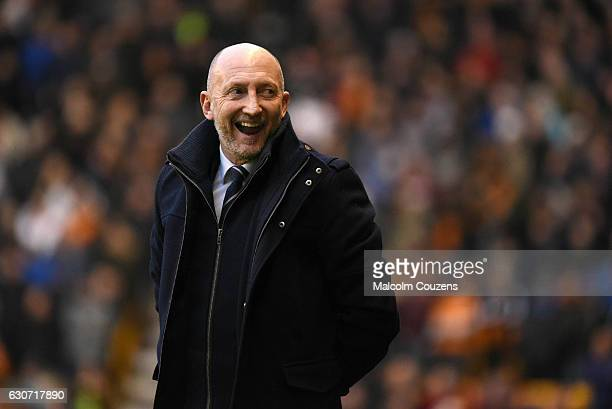 Queens Park Rangers manager Ian Holloway during the Sky Bet Championship match between Wolverhampton Wanderers and Queens Park Rangers at Molineux on...