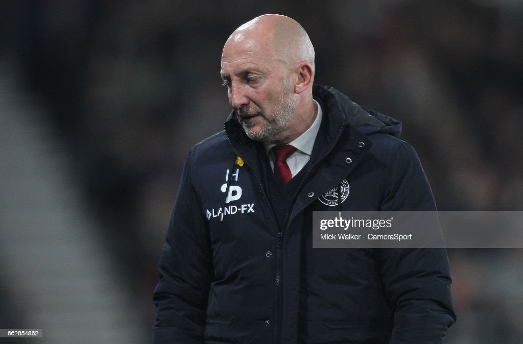 Queens Park Rangers' Manager Ian Holloway during the Sky Bet Championship match between Derby County and Queens Park Rangers at iPro Stadium on March 31, 2017 in Derby, England.