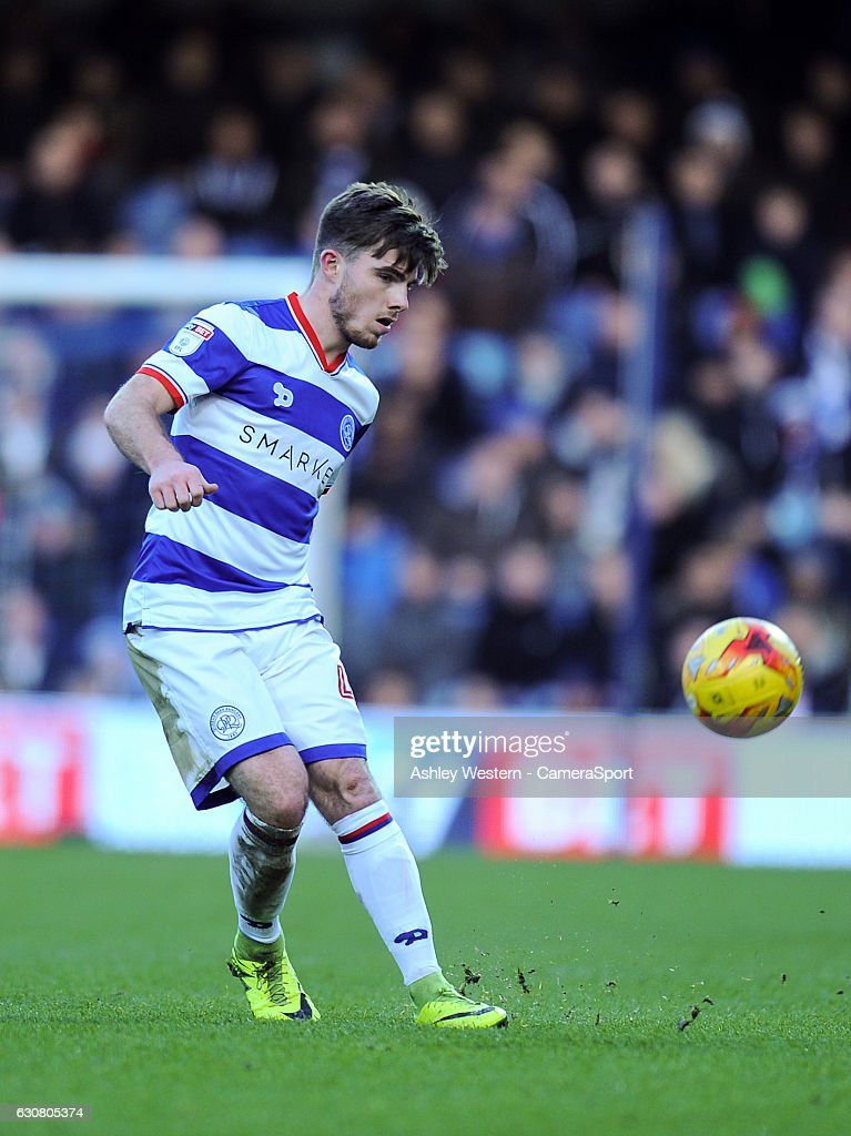 Queens Park Rangers' Ryan Manning in action during the Sky Bet Championship match between Queens Park Rangers and Ipswich Town at Loftus Road on January 2, 2017 in London, England.