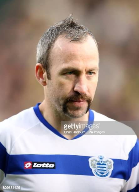 Queens Park Rangers' Shaun Derry takes part in 'Movember' by wearing a moustache