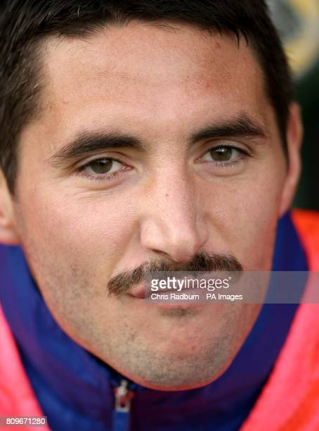 Queens Park Rangers' Tommy Smith takes part in 'Movember' by wearing a moustache