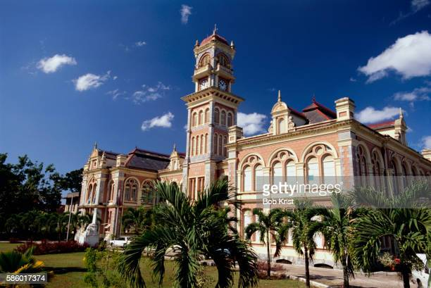 queen's royal college - port of spain stock pictures, royalty-free photos & images