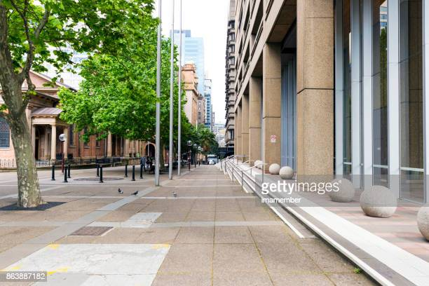queen's squre in sydney australia - new south wales stock pictures, royalty-free photos & images