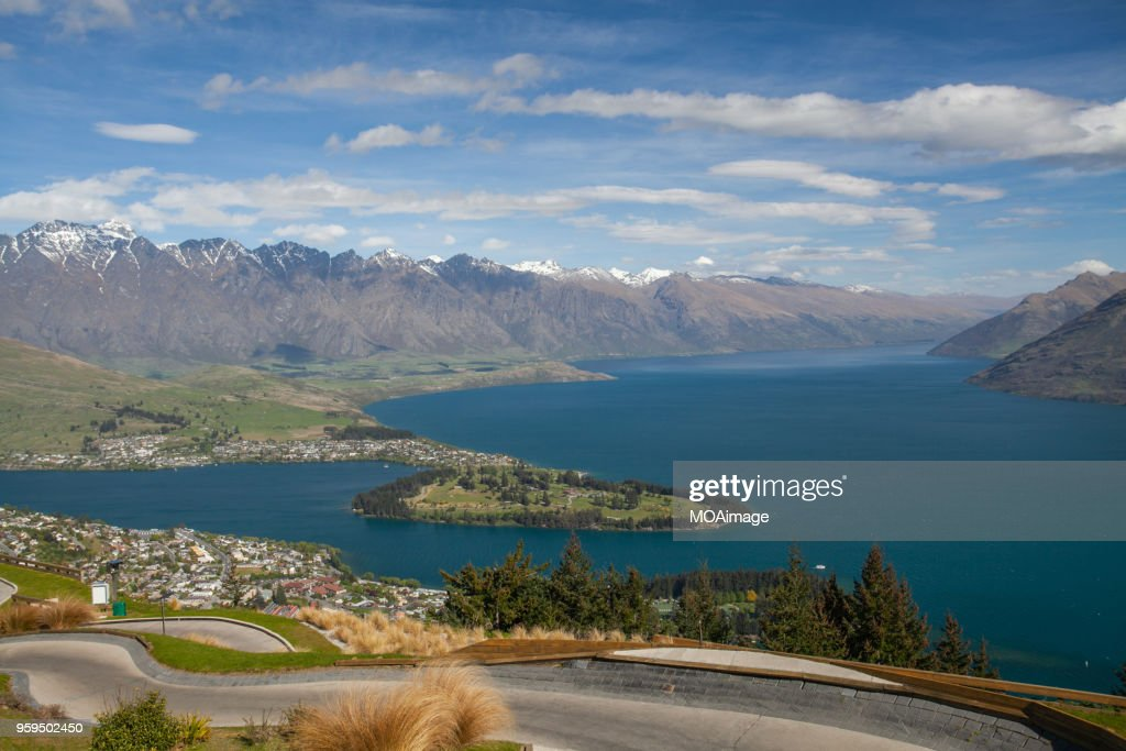 Queens town,South Island,NewZealand : Stock-Foto