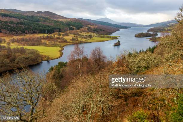 queen's view - perth scotland stock pictures, royalty-free photos & images
