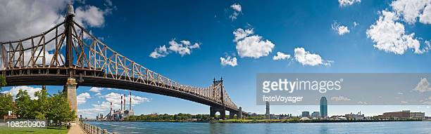 Queensboro Bridge East River Manhattan Queens Roosevelt Island New York