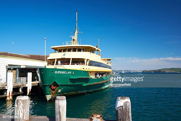 Queenscliff Ferry At Manly Cove