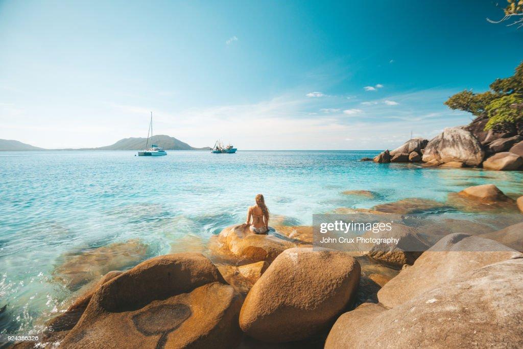 queensland beach girl : Photo
