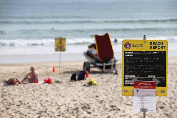 AUS: Queenslanders Adjust To Life Under Tough New Coronavirus Measures