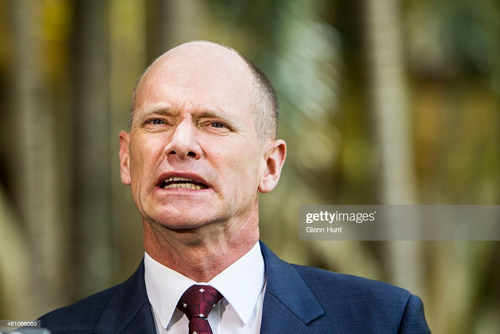 Queensland Premiere Campbell Newman Calls Snap Election : News Photo