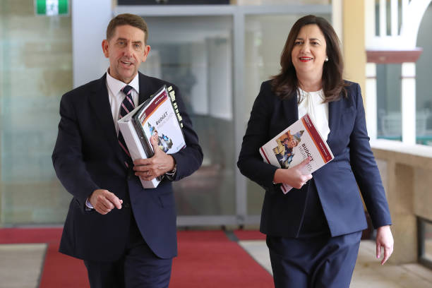 AUS: Queensland Premier Annastacia Palaszczuk Speaks In Parliament Following Budget Announcement