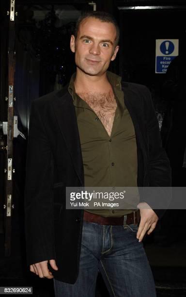 Queer Eye for the Straight Guy's Julian Bennett arriving for the Gene Simmons VIP party at Kabaret Prophercy in Soho London