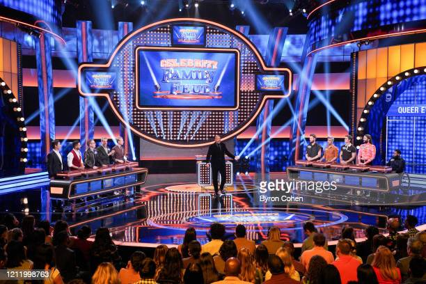 """Queer Eye: OG vs. Queer Eye: New Class"""" - The highly anticipated season six premiere of """"Celebrity Family Feud,"""" where celebrity families compete to..."""