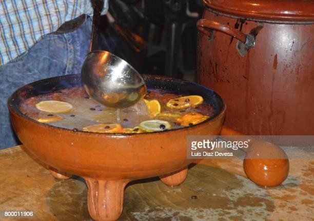 Queimada is made from Licor de Orujo