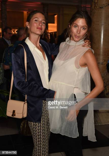 Quentin and Jemima Jones attend a private view of 'Frida Kahlo Making Her Self Up' at The VA on June 13 2018 in London England