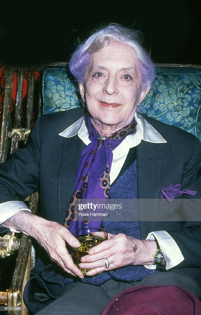 Portrait Of Quentin Crisp : News Photo