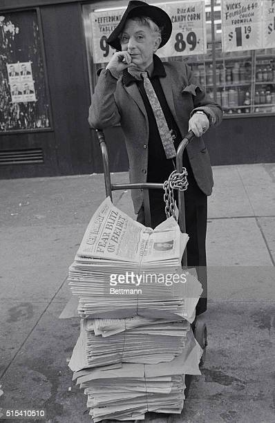 Quentin Crisp who in a sense has been a pioneer of sexuality strikes a pose at the Hotel Chelsea Crisp 'came out' in the streets of London in 1931...