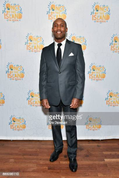 """Quentin Earl Darrington attends the """"Once On This Island"""" Broadway Opening Night after party at The Copacabana Times Square on December 3, 2017 in..."""