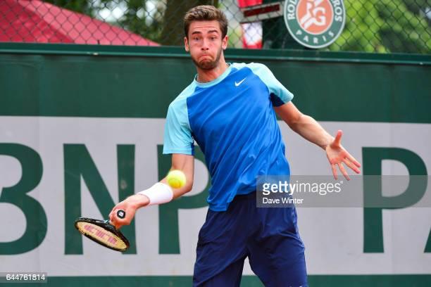 Quentin HALYS Roland Garros 2014 Photo Dave Winter / Icon Sport