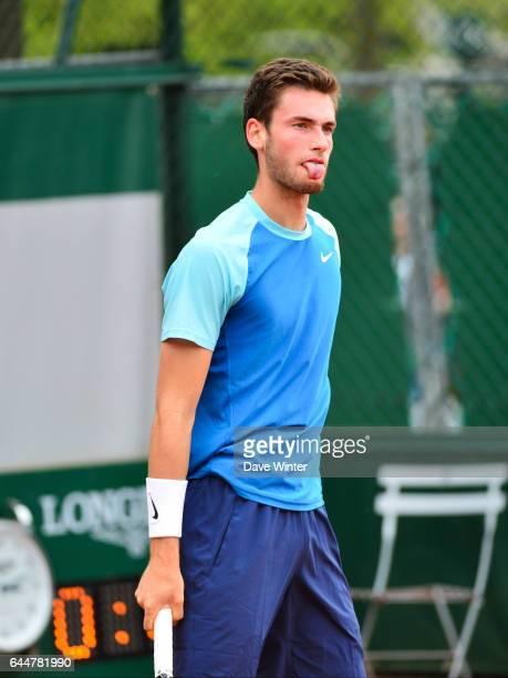 Quentin HALYS - - Roland Garros 2014, Photo : Dave Winter / Icon Sport