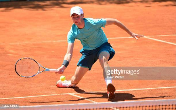 Quentin HALYS Juniors Roland Garros 2013 Photo Dave Winter / Icon Sport