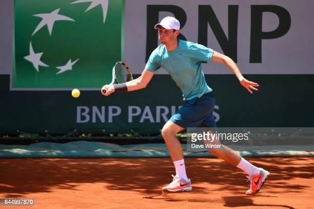 Quentin HALYS Juniors Roland Garros 2013 Photo Dave Winter / Icon Sport