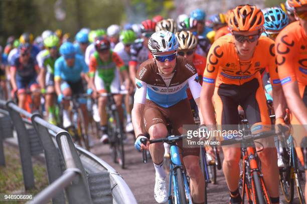 Quentin Jauregui of France and Team AG2R La Mondiale / during the 42nd Tour of the Alps 2018 Stage 1 a 1346km stage from Arco to Folgaria 1160m on...