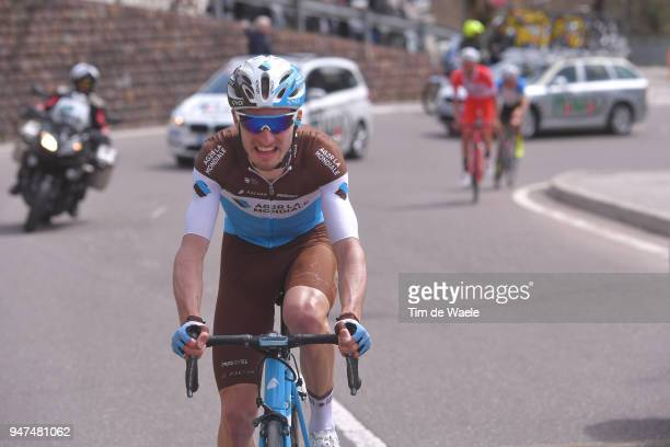 Quentin Jauregui of France and Team AG2R La Mondiale / during the 42nd Tour of the Alps 2018 Stage 2 a 1455km stage from Lavarone to Alpe di Pampeago...