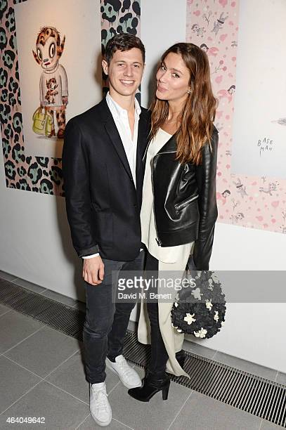 Quentin Jones and George Northcott attend the Coach X Serpentine The Future Contemporaries Party at The Serpentine Sackler Gallery on February 21...