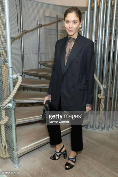 Quentin Jones attends a cocktail party hosted by Laura Bailey and Zanzan at Alex Eagle on November 9 2017 in London England