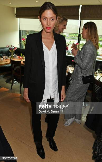 Quentin Jones attends an exclusive lunch at Nobu hosted by Serafina Sama celebrating the Isa Arfen Spring/Summer 2018 pop up at Liberty on May 2 2018...