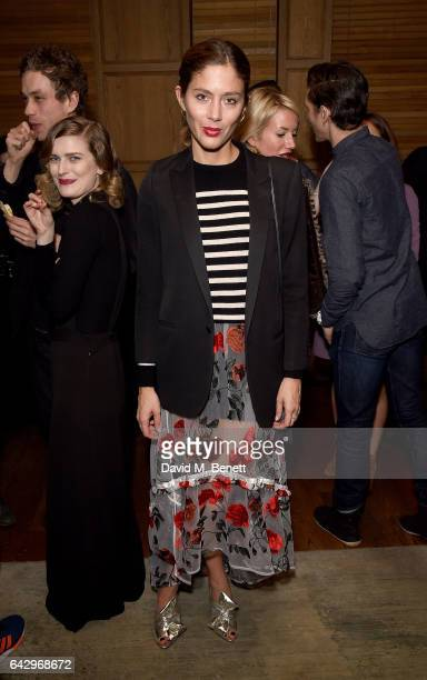 Quentin Jones attends the Charlotte Olympia AW17 aftershow party during the London Fashion Week February 2017 collection at The London EDITION on...