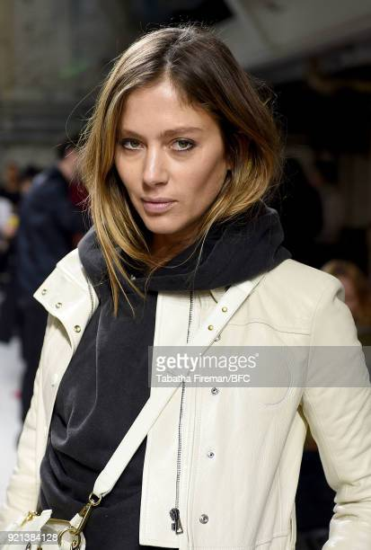 Quentin Jones attends the Isa Arfen show during London Fashion Week February 2018 at Eccleston Place on February 20 2018 in London England