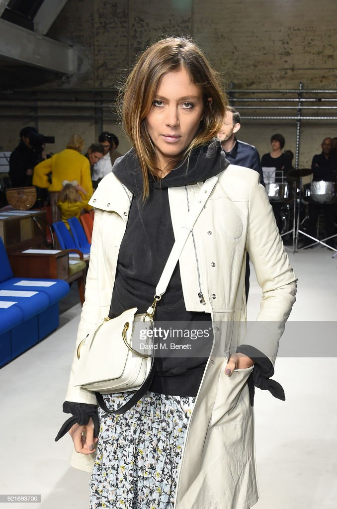 Quentin Jones attends the Isa Arfen show during London Fashion Week February 2018 at Eccleston Place on February 20, 2018 in London, England.