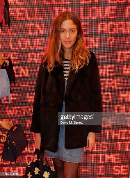 Quentin Jones attends the Maje PopUp store launch with Women for Women International on November 20 2017 in London England