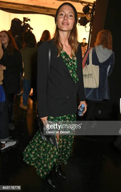 Quentin Jones attends the Shrimps of London presentation during the London Fashion Week February 2017 collections on February 20 2017 in London...