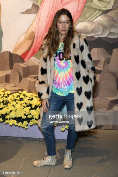 Quentin Jones attends the Shrimps show during London Fashion Week February 2019 at Ambika P3 on February 19 2019 in London England