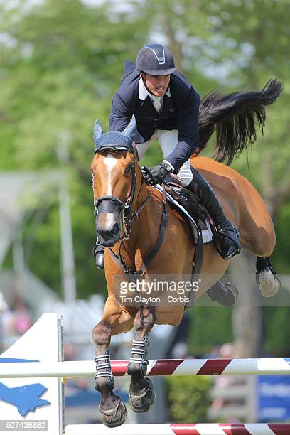 Quentin Judge riding HH Whisky Royale in action during the $100000 Empire State Grand Prix presented by the Kincade Group during the Old Salem Farm...